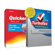Intuit Quicken Deluxe 2013 and TurboTax Deluxe wit