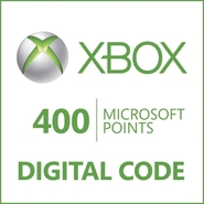 Microsoft Corporation Xbox LIVE 400 Points Prepaid
