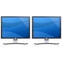 Dell Quantity 2 - UltraSharp 2007FP 20.1-inch Flat