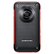 Samsung HMX-W300 5 MP HD Pocket Camcorder - Red