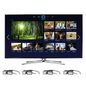 Samsung 46-inch LED Smart TV - UN46F7100 3D HDTV w