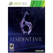Capcom Resident Evil 6 for Xbox 360