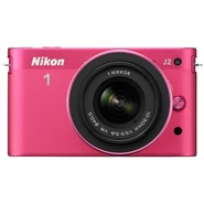 Nikon 1 J2 Pink 10.1 MP Digital Camera Body with 1
