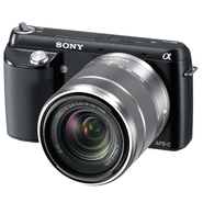 Sony Alpha NEX-F3K Black 16.1 MP Digital Camera (w