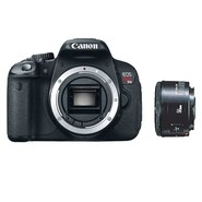 Canon EOS Rebel T4i 18 MP Digital SLR Camera Bundl