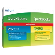 Intuit QuickBooks Pro with Enhanced Payroll 2013