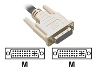C2G - DVI cable - DVI-I (M) to DVI-I (M) - 10 ft -