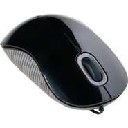 Targus Cord-Storing Optical Mouse - Black/Gray
