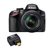 Nikon D3200 24.2 MP Digital SLR Camera (with 18 -