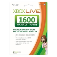 XBOX LIVE 1600 Points Prepaid Online Code