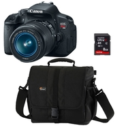 Canon EOS Rebel T4i 18 MP Digital SLR Camera (with