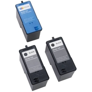 Dell 962 3-Pack: 2 x High Capacity Black Ink Cartr