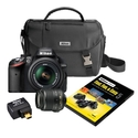 Nikon D3200 Digital SLR Camera Bundle with Fast Fu