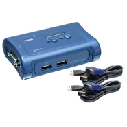 2-Port USB / VGA/SVGA 15-pin HDB Connectors KVM sw