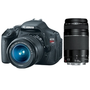 Canon EOS Rebel T3i EF-S 18-55 IS II Lens Kit + EF