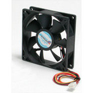 Quiet 9.25cm Dual Ball Bearing Case Fan with TX3 C