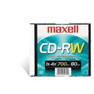 4x CD-RW 700MB/80Min in Jewel Case