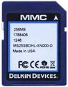 256MB 9pin SD Secure Digital Card 16/7 MBs 105x M