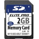 2GB 9p SD Secure Digital Card Class 2 11/7MBs 71x