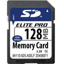 128MB 9p SD Secure Digital Card 66x, MemoryTen, B