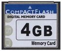 4GB 50p CF  10/8 MB/s 70x CompactFlash Card Blank