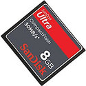 Sandisk 8GB Ultra 30MB/s SDCFH-008G CF Compact Fl