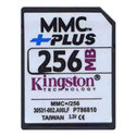 256MB MMC MultiMedia Plus Card, Kingston, BWC, AF
