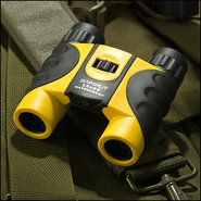 - Colorado 12 x 25 Waterproof Binoculars - Yellow/