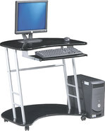 - Kool Kolors Computer Desk - Black