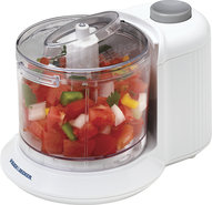 - 1-1/2-Cup One-Touch Chopper - White