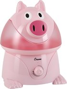 - 1-Gal Ultrasonic Cool Mist Humidifier - Pig