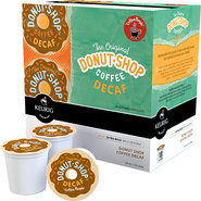 - Donut Shop Decaf Coffee K-Cups (18-Pack)