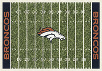 - Denver Broncos Small Rug