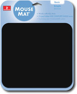 - Soft Fabric Mouse Pad - Black