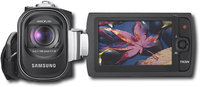 Samsung - Camcorder with 27   Color LCD Monitor - 