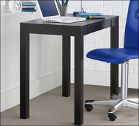 - Parsons Computer Desk - Black