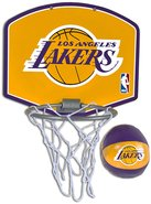 - Los Angeles Lakers Mini Hoop Set