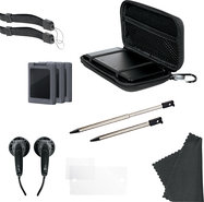 - 11-in-1 Starter Pack for Nintendo 3DS - Black -