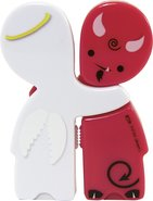 - ShareBytes Devil Angel 4GB USB Flash Drives (2-C