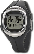 - 915 Digital Duo Heart Rate Watch for Men - Black