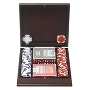 - Trademark Poker 115 Hold Em Poker Chip Set with