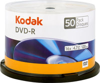 - 50-Pack Silver 16x DVD-R Disc Spindle