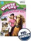 Horse Life Adventures - PRE-OWNED - Nintendo Wii
