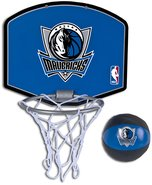 - Dallas Mavericks Mini Hoop Set