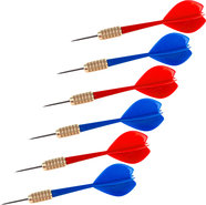 - Steel-Tip Darts (6-Pack)