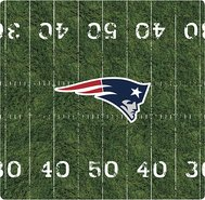 - New England Patriots Mouse Pad - Black
