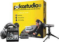 - Podcastudio Recording Kit