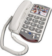 - Amplified Corded Telephone with Clarity Power Te