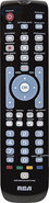 - 4-Device Universal Remote - Black
