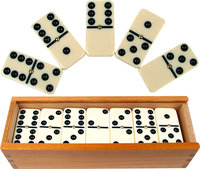 - 28 Double 6 Dominoes